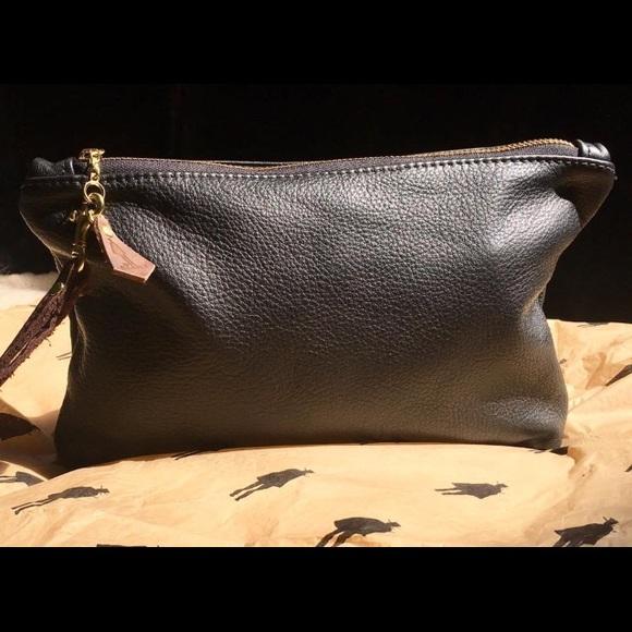 5c109e5ce30 Clint Eastwood Handbags - Clint Eastwood Leather Wristlet